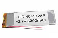 Аккумулятор универсальный 4045128P (4*47*124mm) 3200mAh