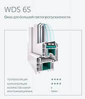 Окна из профильной системы WDS 6S в Кривом Роге