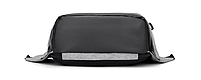 Рюкзак Bobby Бобби с защитой от карманников антивор USB разъем Синий, фото 3