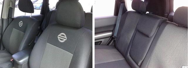 Чехлы на сиденья Nissan Sentra