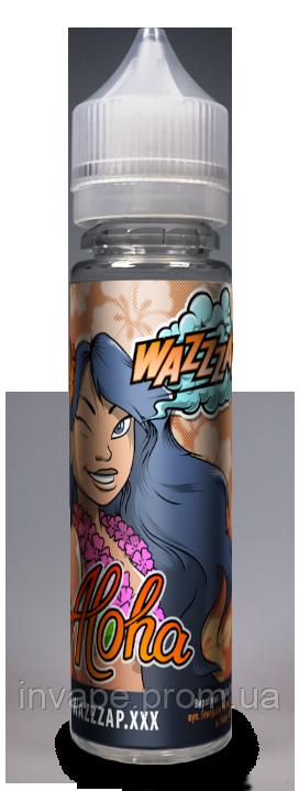 Жидкость для электронных сигарет Wazzzap - ALOHA (Малина + лимон) 60мл, 0 мг