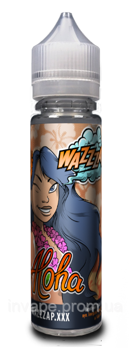 Жидкость для электронных сигарет Wazzzap - ALOHA (Малина + лимон) 60мл, 3 мг