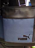 Сумка мужская барсетка мессенджер через плечо. Разные цвета и эмблемы, фото 7