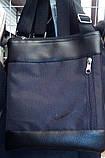 Сумка мужская барсетка мессенджер через плечо. Разные цвета и эмблемы, фото 10