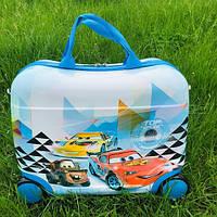 Детский чемодан  для мальчиков на колесах маквин