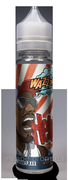 Жидкость для электронных сигарет Wazzzap - HELLO (Классическая жвачка) 60мл, 3 мг