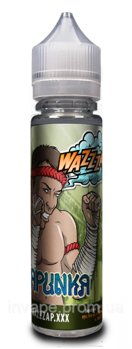 Жидкость для электронных сигарет Wazzzap - KAPUNKA (Свежий грейпфрут) 60мл, 0 мг