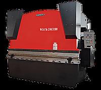Гидравлический гибочный пресс Yangli WC67K 100/2500  с контроллером на 2 оси (X, Y)