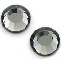 Стразы DMCss30 Black Diamond (6,4-6,6мм)горячей фиксации. 50gross/7.200шт.