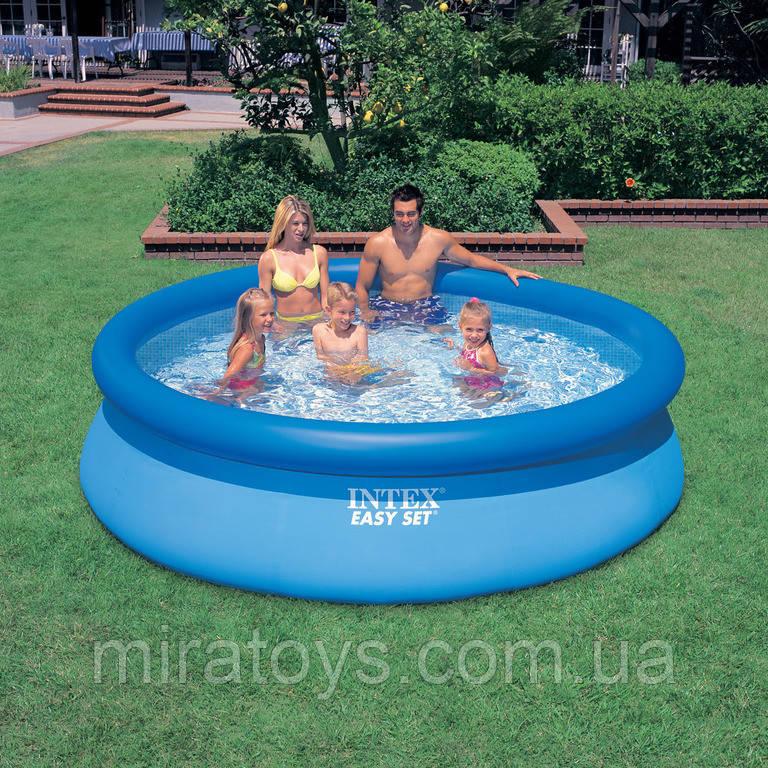 ✅Сімейний надувний басейн Intex 28120 305х76см