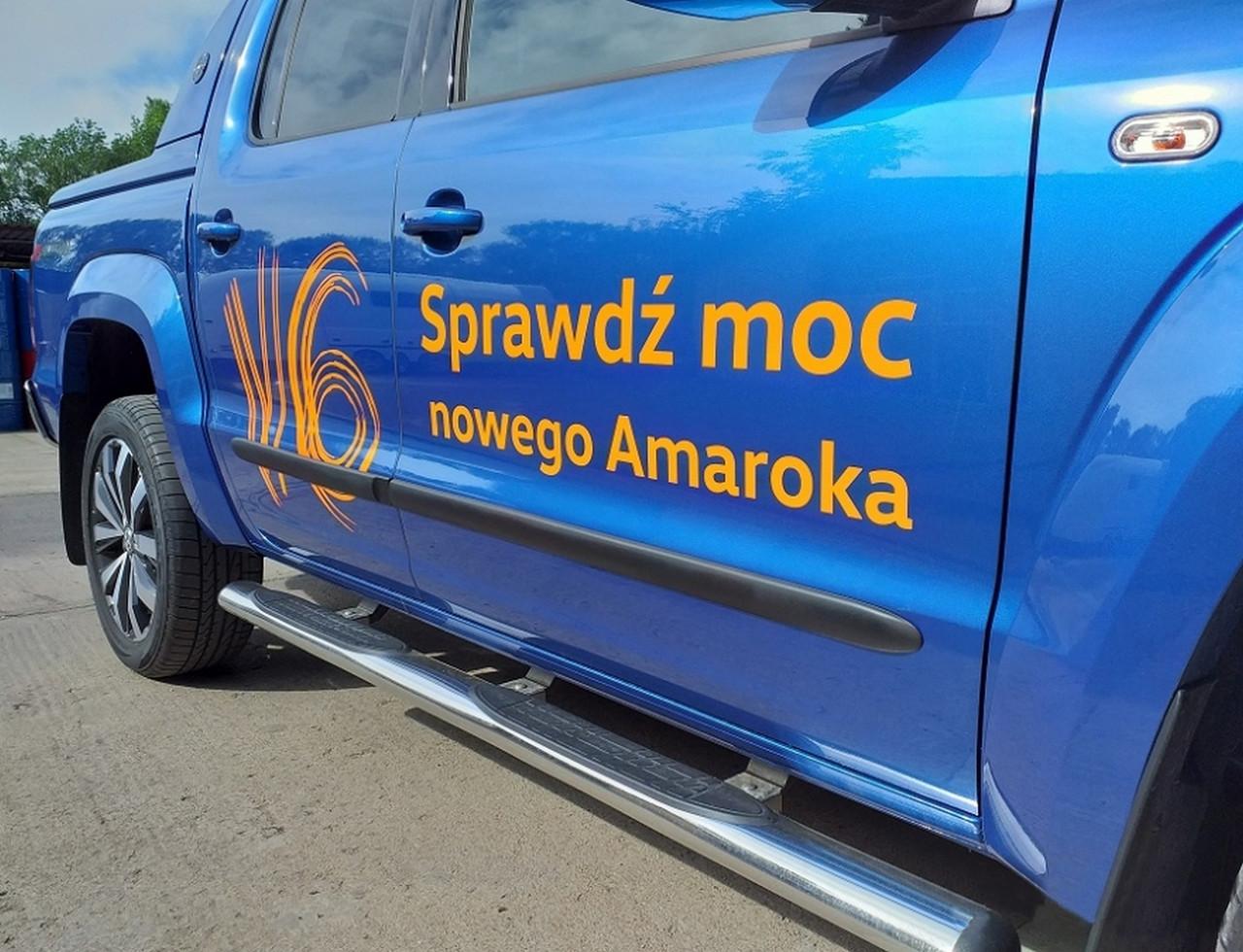 f-1 Volkswagen Amarok lift 2016+ door mouldings