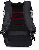 Городской рюкзак антивор с отделениям для ноутбука 15,6 USB Baibu Черный, фото 2
