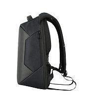 Городской рюкзак антивор с отделениям для ноутбука 15,6 USB Baibu Черный, фото 5