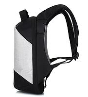 Городской рюкзак антивор с отделениям для ноутбука 15,6 USB Baibu Черный, фото 9