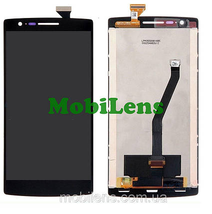 OnePlus One, A0001 Дисплей+тачскрин(модуль) черный, фото 2