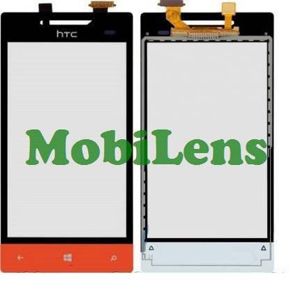 HTC A620e, A620t 8S Rio Тачскрин (сенсор) красный (оранжевый), фото 2