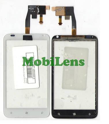HTC C110e, Radar Тачскрин (сенсор) белый, фото 2