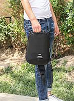 Сумочка-рюкзак антивор Baibu Mini с USB  рюкзак через плечо Черный, фото 4