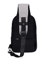 Сумочка-рюкзак антивор Baibu Mini с USB  рюкзак через плечо Черный, фото 6