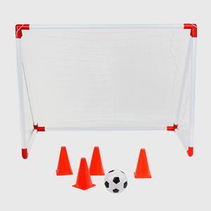 Ворота футбольные с пластика + аксессуары для тренировки NILS BR116A