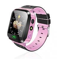 Детские умные часы Smart Watch F1 Розовый, фото 1