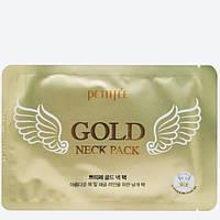 Маска для шеи с золотом и комплексом полезных веществ Petitfee Gold Neck Pack - 1 шт.