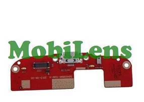 HTC Desire 300, 300 HTC, Desire 500 Шлейф коннектора зарядки з компонентами