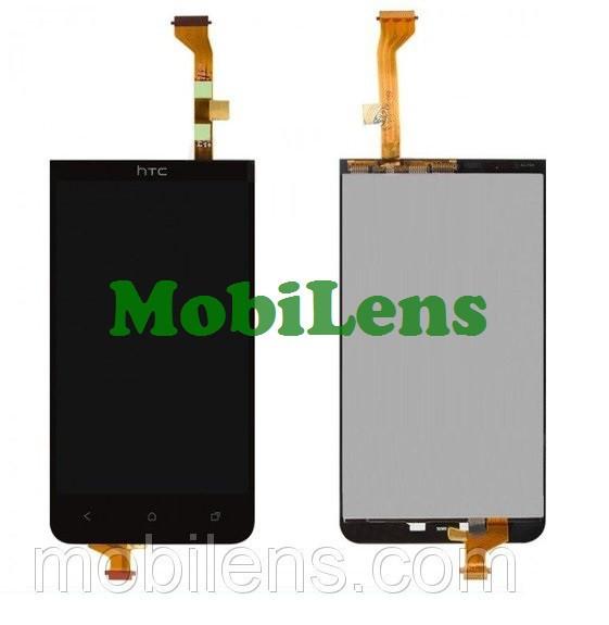 HTC Desire 501, HTC 501 Дисплей+тачскрин(модуль) черный