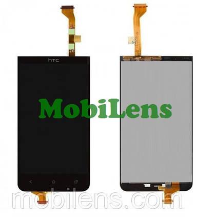 HTC Desire 501, HTC 501 Дисплей+тачскрин(модуль) черный, фото 2