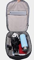 Сумочка-рюкзак антивор Baibu Mini с USB  рюкзак через плечо Синий, фото 4