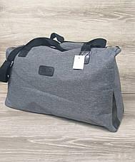 Дорожная / спортивная сумка хорошего качества, среднего размера 50х30х20 см, плотный материал, фото 2