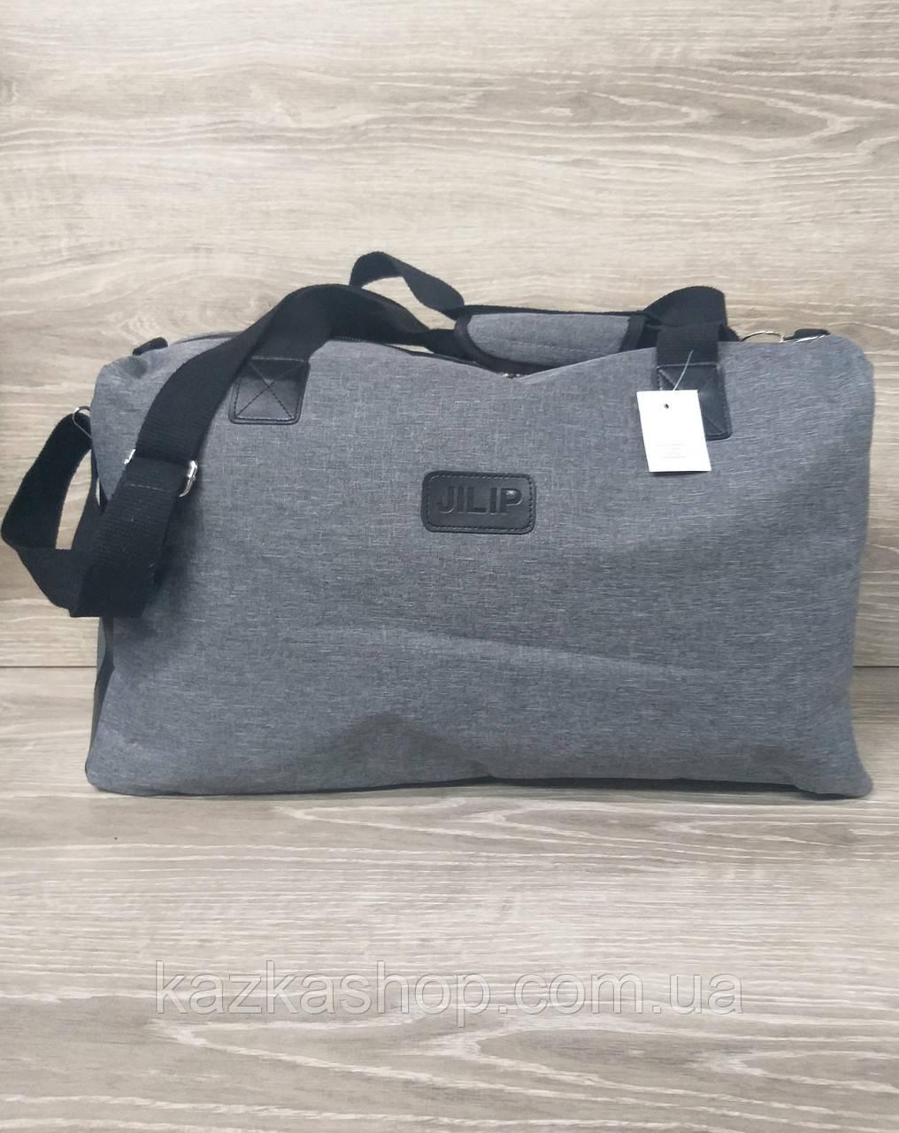 Дорожная / спортивная сумка хорошего качества, среднего размера 50х30х20 см, плотный материал