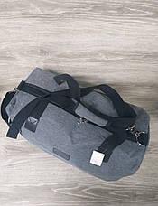Дорожная / спортивная сумка хорошего качества, среднего размера 50х30х20 см, плотный материал, фото 3