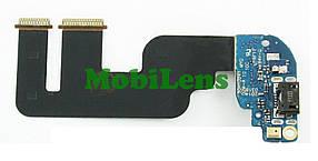 HTC One mini 2, One M8 mini Шлейф з роз'ємом зарядки і мікрофоном