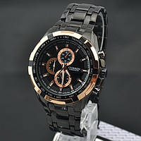Часы мужские Curren Granit black-gold-black