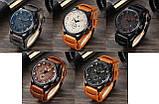 Часы мужские Curren Aviator brown-black, фото 4