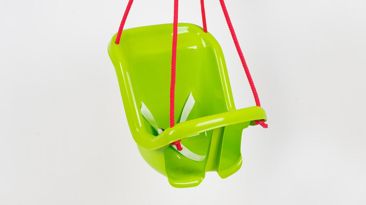 Детские подвесные качели. С ремнями безопастности. 4 цвета.