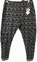 Мужские трикотажные брюки Tommy Life на манжетах с карманами на коленях Серый камуфляж