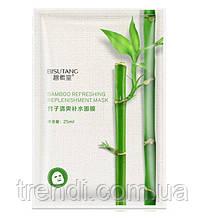 Тканевая маска для лица с экстрактом бамбука, Bisutang