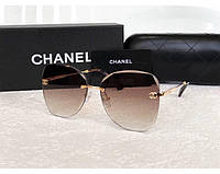 Женские безоправные солнцезащитные очки (1062) , фото 1