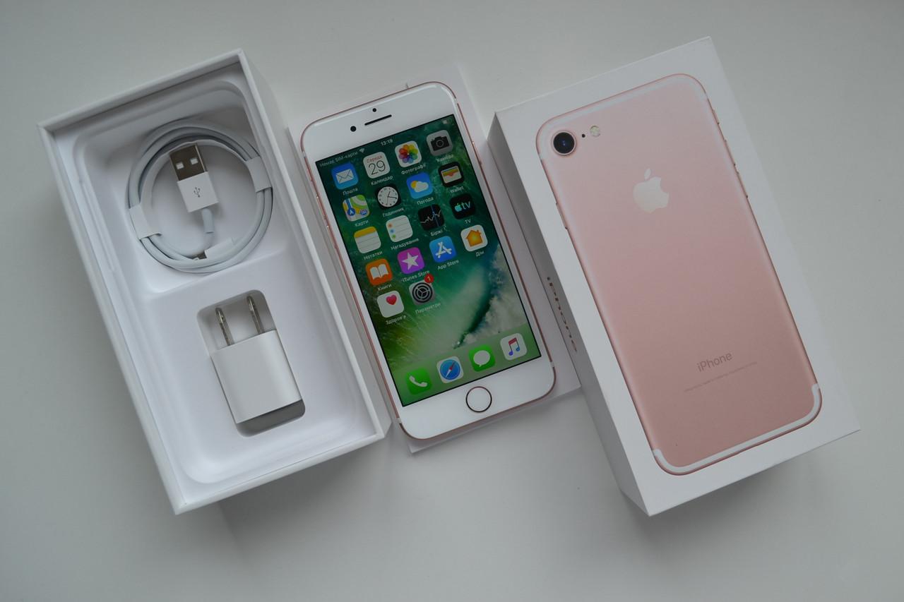 Новый Apple Iphone 7 32Gb Rose Gold Оригинал!