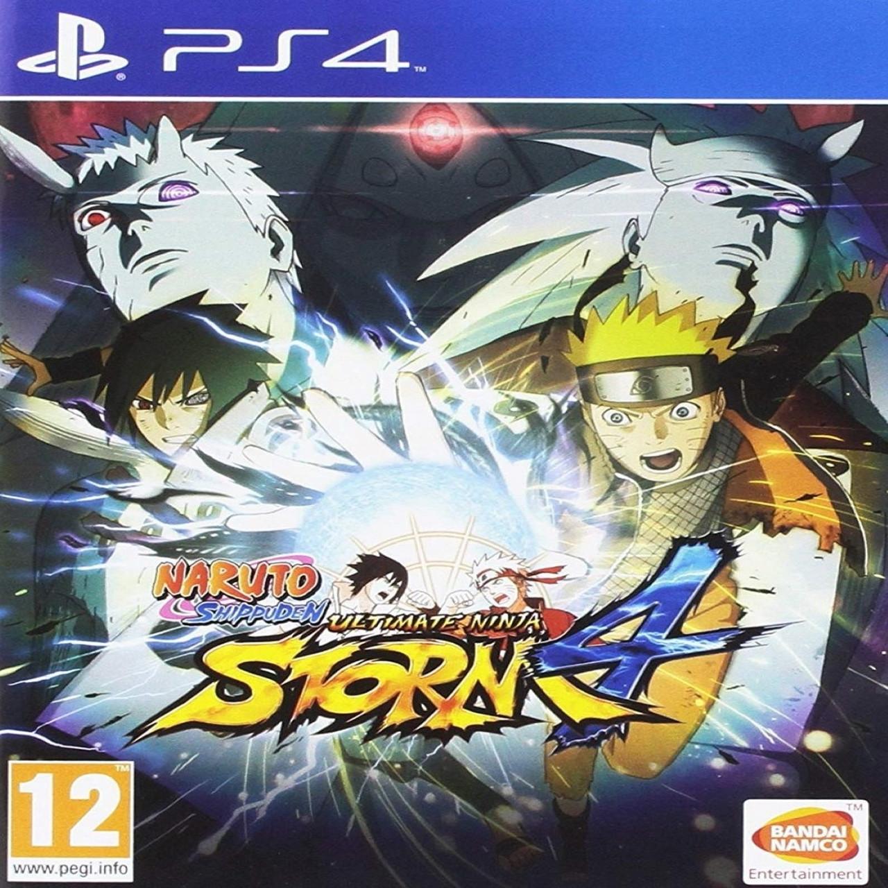 Naruto Shippuden:Ultimate Ninja Storm 4 ENG PS4 (Б/В)
