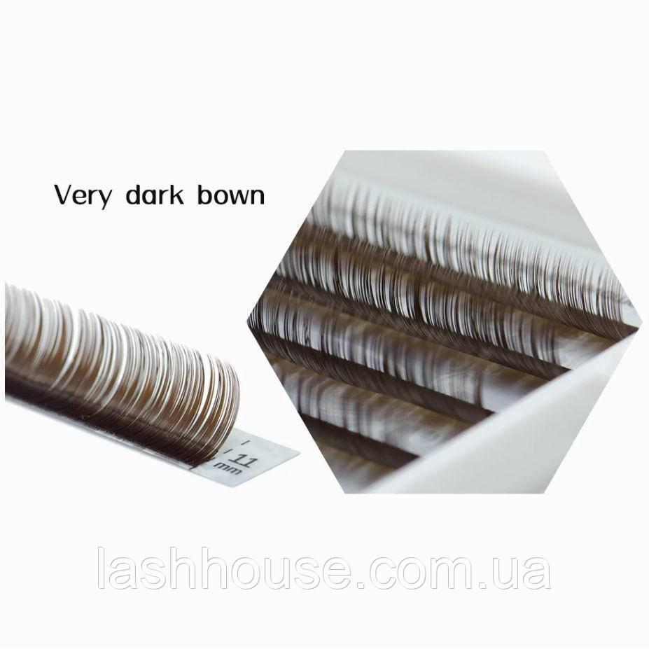 Cilia Ресницы Dark Brown (6 Линий)