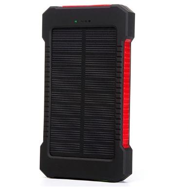 Акумулятор Power bank TL-10WP Tollcuudda 10000 mAh з сонячною панеллю, ліхтарем, водостійкий