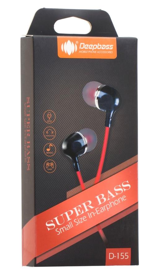 Наушники MP3 Deepbass D-155 с микрофоном