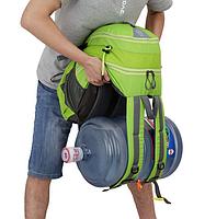 Городской спортивный (велорюкзак) рюкзак FLAME HORSE на 25литров Салатовый, фото 5