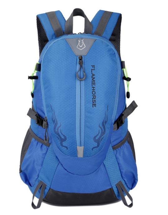 Городской спортивный (велорюкзак) рюкзак FLAME HORSE на 25литров Голубой