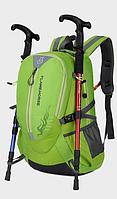 Городской спортивный (велорюкзак) рюкзак FLAME HORSE на 25литров Черный, фото 6