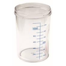 Емкость для аспиратора без крышки, 4л (материал: Makrolon, автоклав: 121 °С) - RE-210007