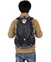 Городской спортивный (велорюкзак) рюкзак FLAME HORSE на 35литров Черный, фото 2
